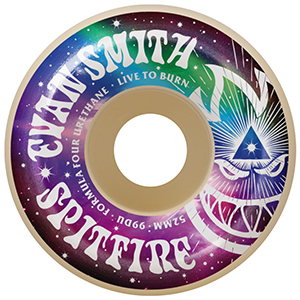 Spitfire Formula Four Evan Smith 3rd Eye Conical Wheels 99D 52mm