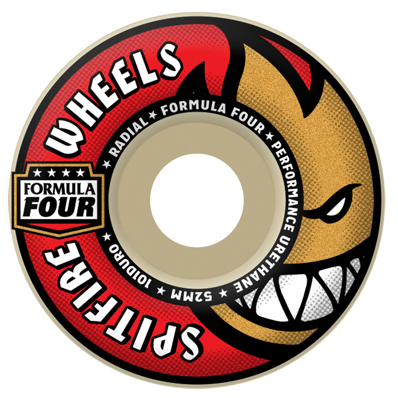 Spitfire Formula Four 101D Radial Wheels 52mm