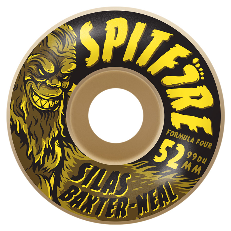 Spitfire Formula Four 99D Silas Skunk Ape Radials 52mm Wheel