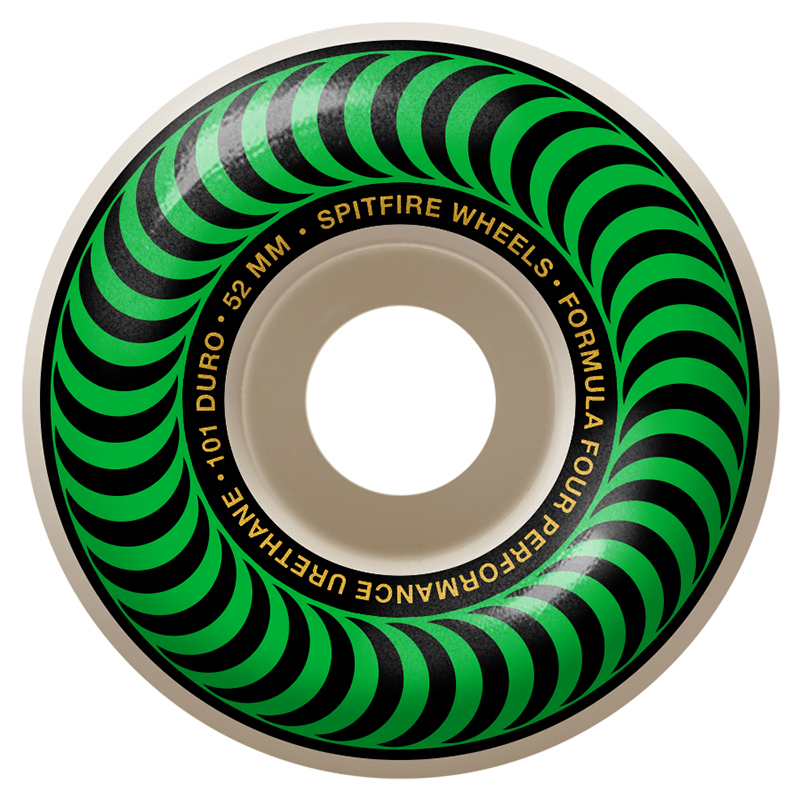Spitfire Formula Four Classic Wheels 101A Green 52mm