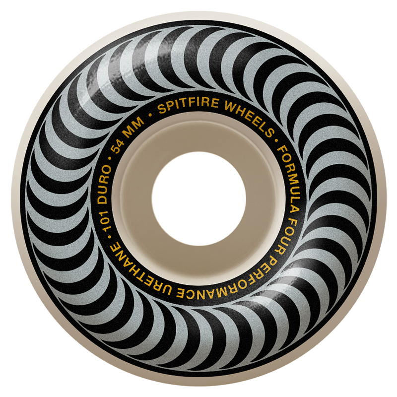 Spitfire Formula Four Classic Wheels 101A Silver 54mm