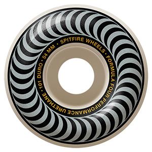 Spitfire Formula Four Classic Wheels 101A Silver 54mm