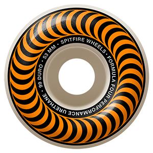 Spitfire Formula Four Classic Wheels 99D Orange 53mm