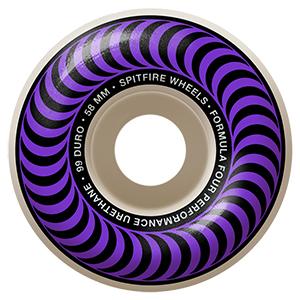 Spitfire Formula Four Classic Wheels 99D Purple 58mm