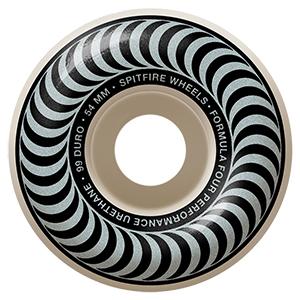 Spitfire Formula Four Classic Wheels 99D Silver 54mm