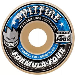 Spitfire Formula Four Conical Full Wheel 99DU 54mm