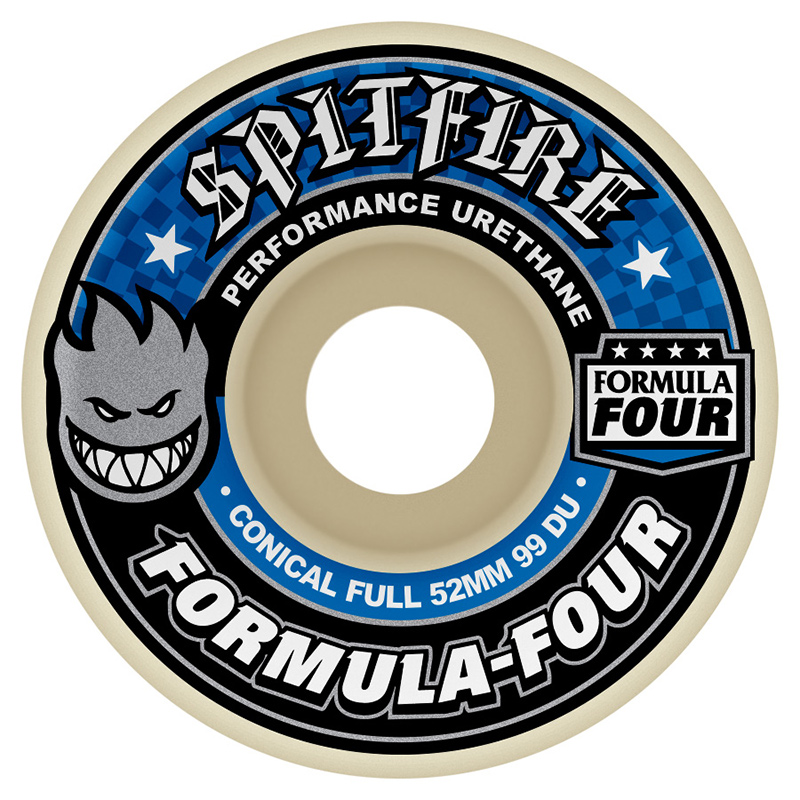 Spitfire Formula Four Conical Wheel 99DU 52mm
