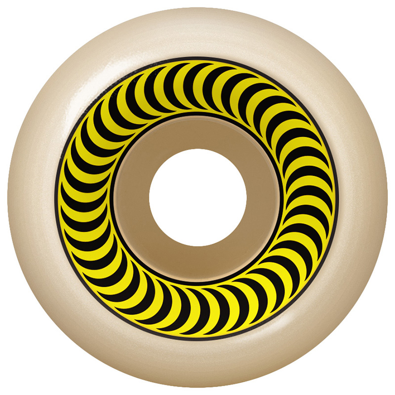 Spitfire Formula Four OG Classic Wheels Yellow 99D 55mm