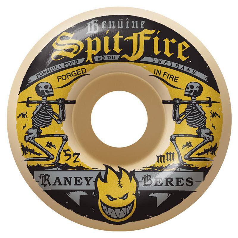 Spitfire Formula Four Raney Firewater Natural Wheel 99DU 52mm