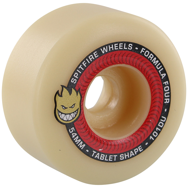 Spitfire Formula Four Tablets Wheels Natural 101D 54mm