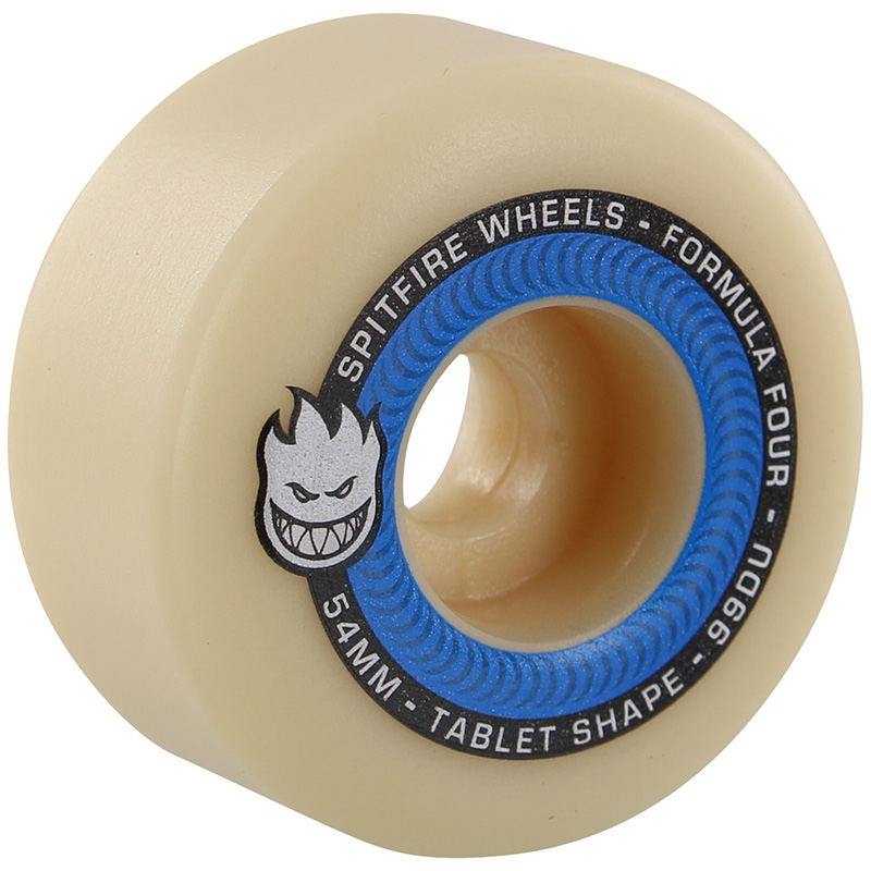 Spitfire Formula Four Tablets Wheels Natural 99D 54mm