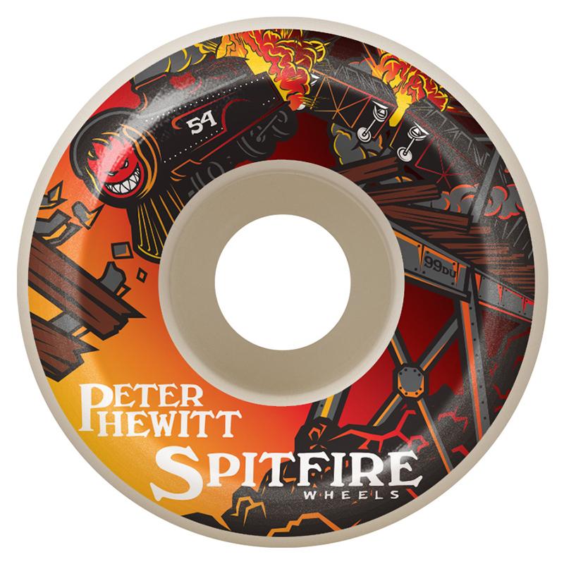 Spitfire Hewitt Off The Rails 99D 54mm Wheel