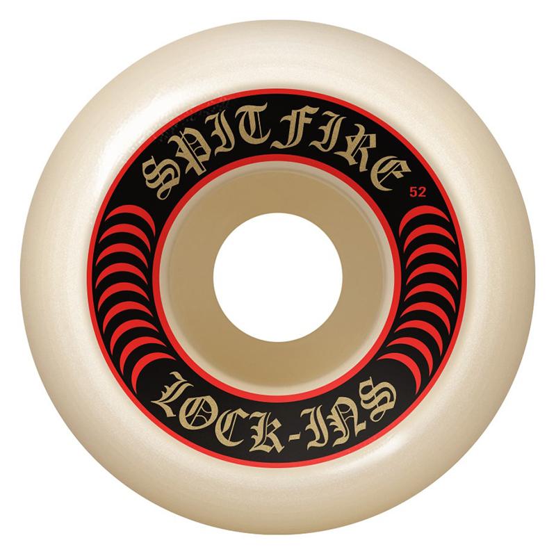 Spitfire Formula Four Lock Ins Wheels Natural 101D 53mm