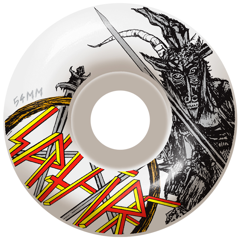 Spitfire No Mercy Classic Wheel White 99D 53mm