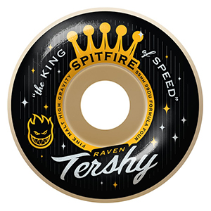 Spitfire Formula Four Tershy King Of Speed Wheels Natural 99D 53mm