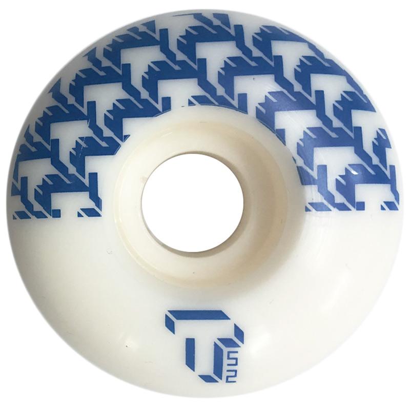 Tada 8 Bit T Classic Wide Wheel White/Blue 52mm