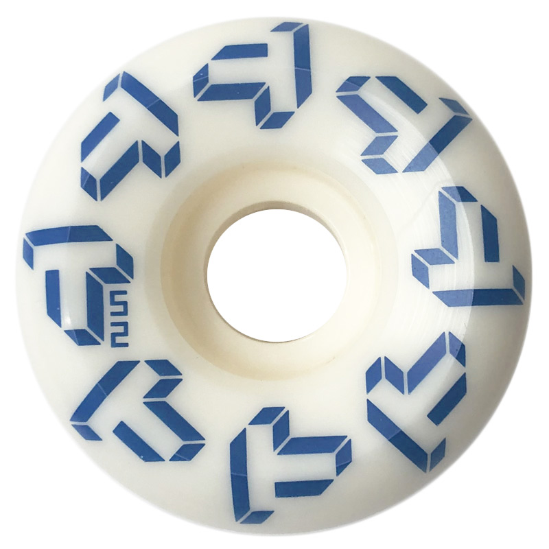 Tada Repeat T Conical Wheel White/Blue 52mm