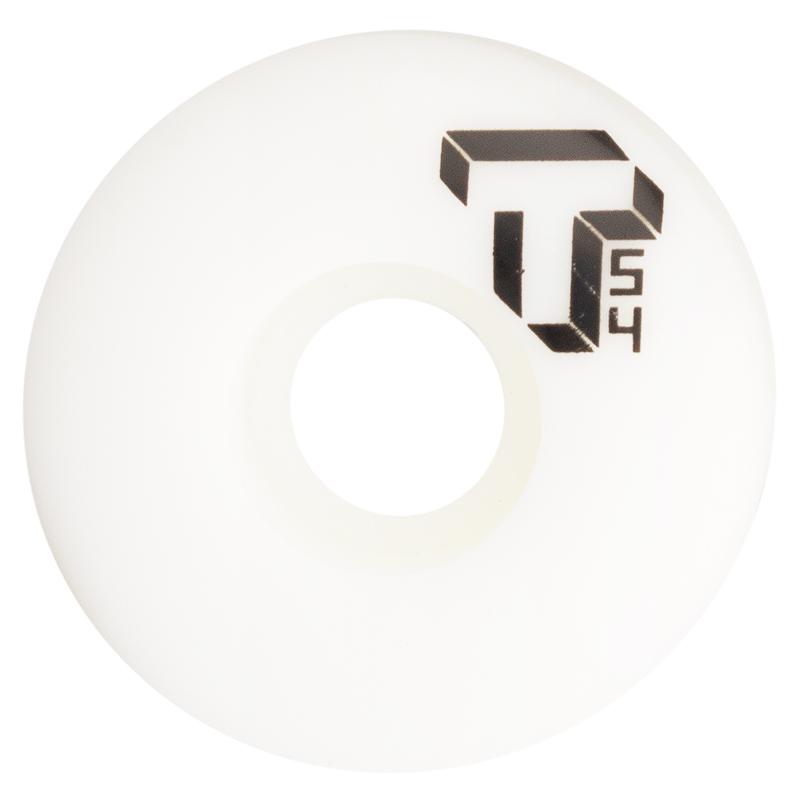 Tada Single T Wheel White 54mm