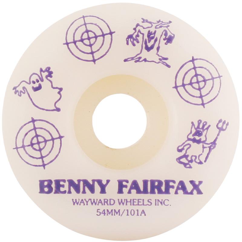 Wayward Benny Fairfax Funnel Cut Q2 Wheels 101A 54mm