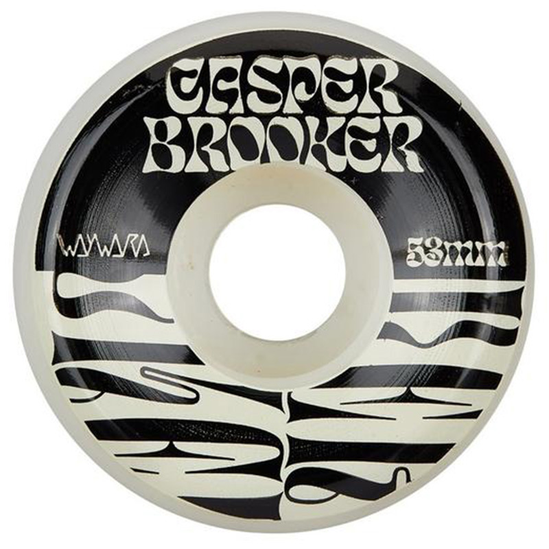 Wayward Casper Brooker Funnel Cut Wheels 101A 53mm
