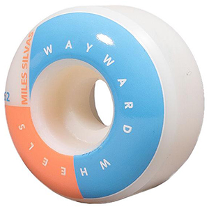 Wayward Corner Cut Silvas Wheel Orange 101A 52mm