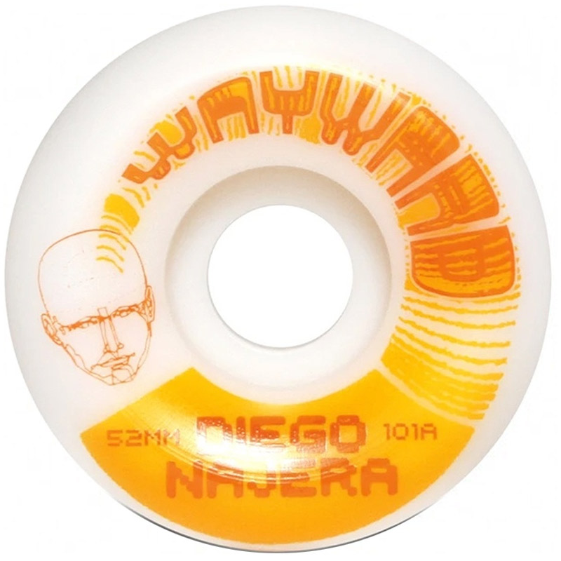 Wayward Diego Najera Funnel Cut Wheels 101A 52mm
