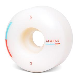Wayward Formula Clark Won Slim Wheels Teal/Red 52mm