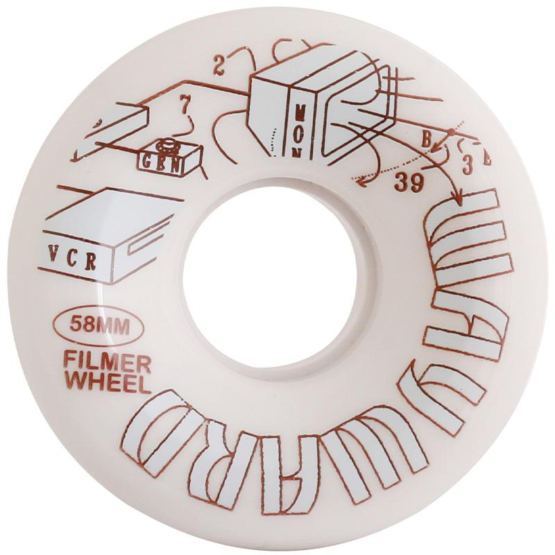 Wayward Funnel Cut Filmer Q2 Wheels 80A 58mm
