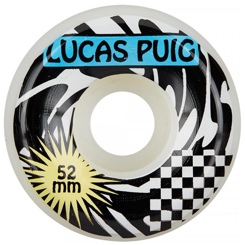 Wayward Lucas Puig Funnel Cut Wheels 101A 52mm
