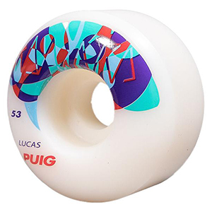 Wayward MIXR Puig Wheel Clear Blue 101A 53mm
