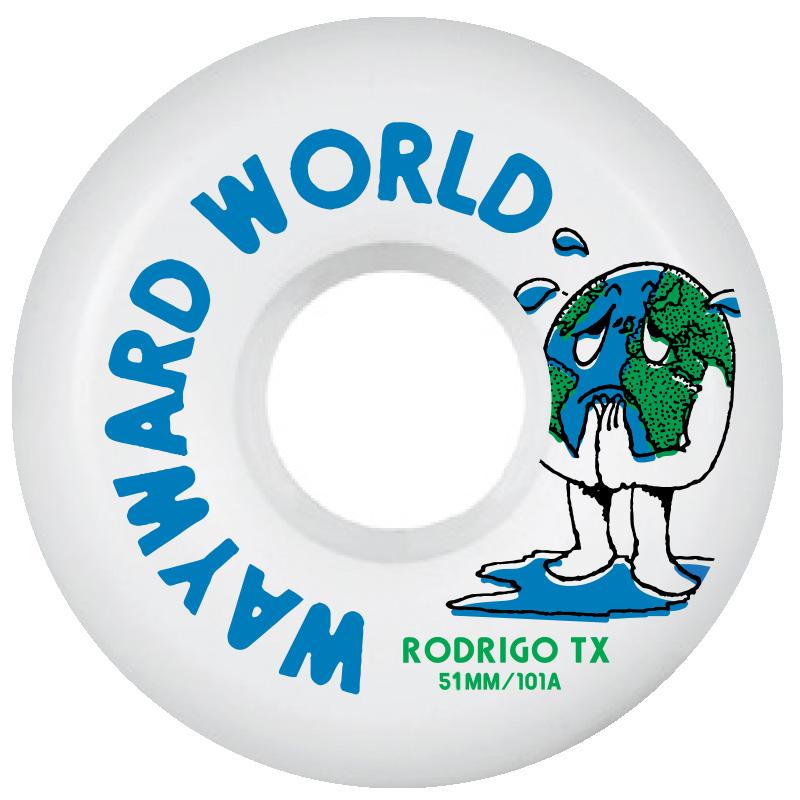 Wayward Rodrigo Tx Funnel Cut Q2 Wheels 101A 51mm