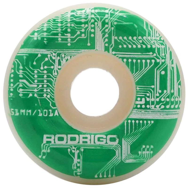 Wayward Rodrigo TX Funnel Cut Wheels 101A 51mm