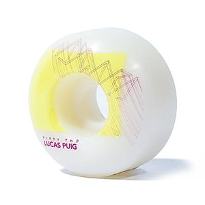 Wayward Tiltshift Slim Wheels Yellow  52mm