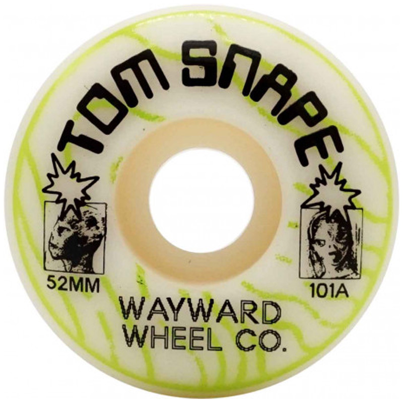 Wayward Tom Snape Classic Cut Wheels 101A 52mm