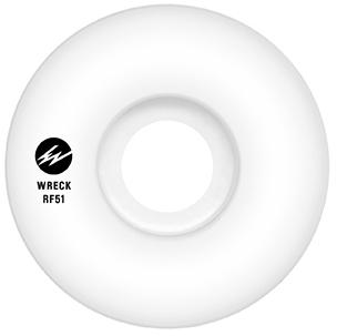 Wreck RF Narrow Cut Wheel White 83B 51mm