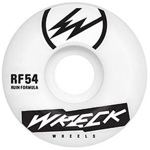 Wreck RF Square Cut Wheels White 83B 54mm